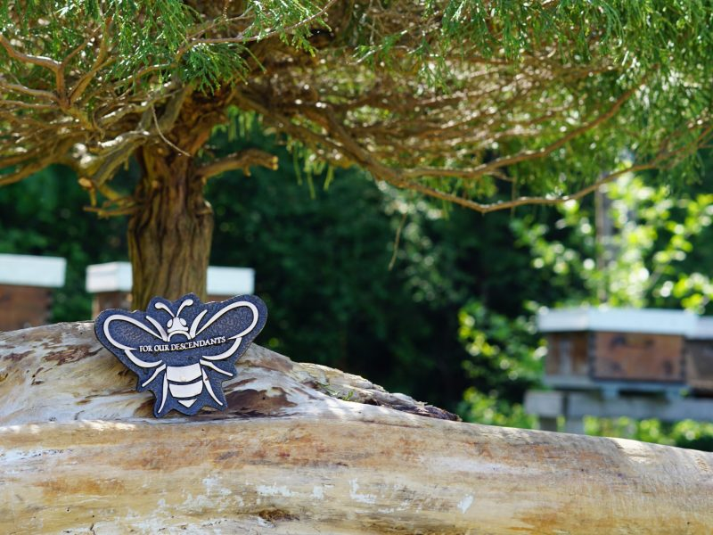 Sustainable Cemetery, Beehive Memorials, Memorial Plaque, Green Burial, Natural Cemetery